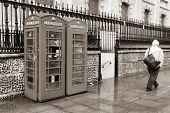 stock photo of rainy weather  - London United Kingdom  - JPG