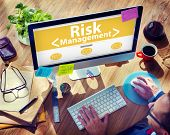 picture of risk  - Digital Online Risk Management Office Working Concept - JPG