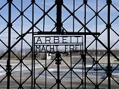 Gate of Concentration Camp