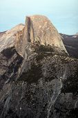 image of granite dome  - Half Dome - JPG