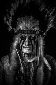 pic of indian chief  - Native - JPG