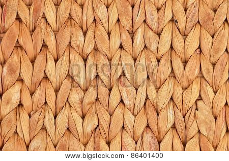Straw background from aquatic hyacinth