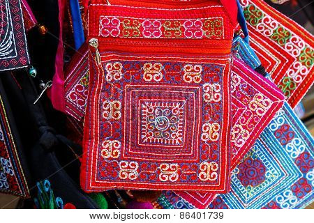 Texture Of Asian Vintage Bag
