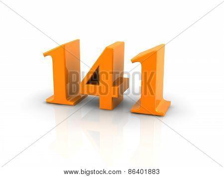 Number 141