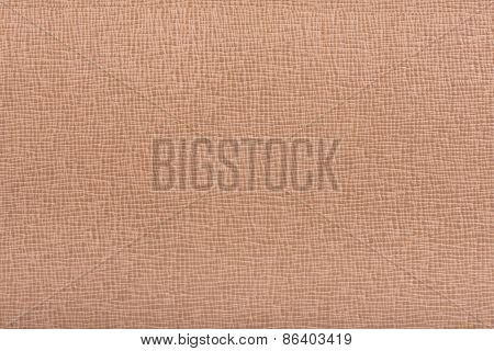 Light Brown Hazel Embossed Leather Texture Background