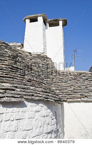 Trullo Chimney-pots. Alberobello. Apulia.