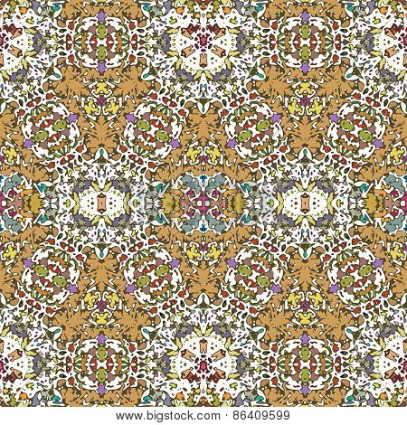 Abstract Seamless Ornament.