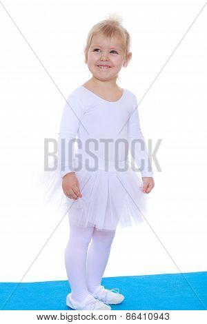 charming little gymnast