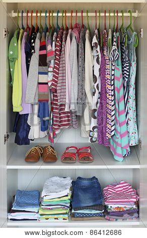 Girls wardrobe