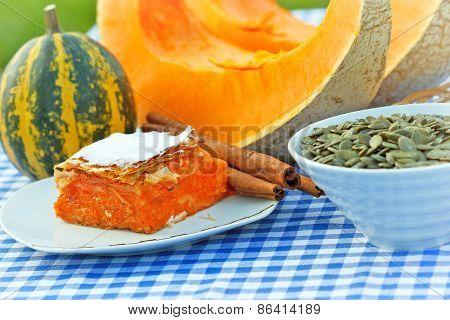 Pumpkin pie - pumpkin cake