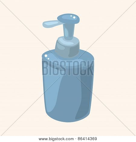 Bathroom Shampoo Theme Elements