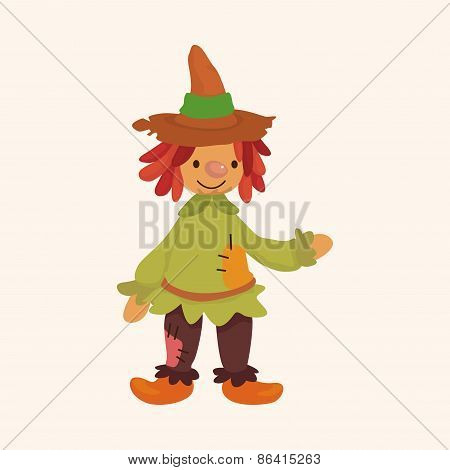 Scarecrow Theme Elements