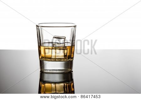 Whiskey With Reflection