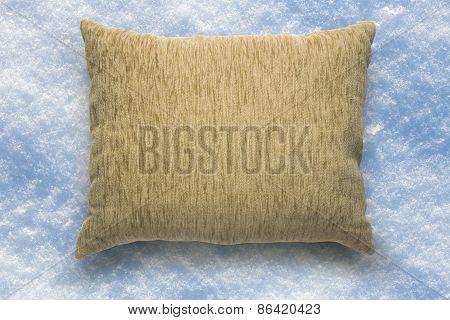 Soft Blank Beige Pillow