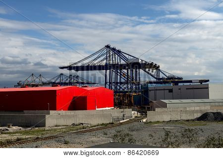 Warehouse On The Port