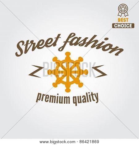 Retro Vintage Insignia, logo for different shops
