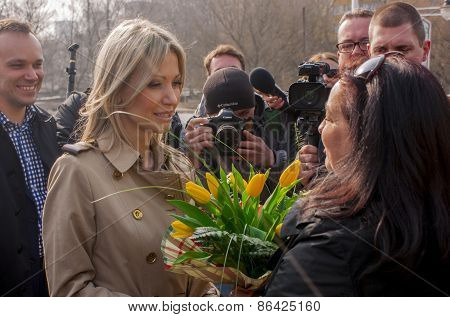 Magdalena Ogorek, Candidate For President Of The Republic Poland