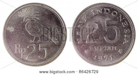 Old Rare Coin Of Indonesia