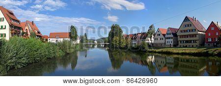 Rottenburg Am Neckar, Panorama.