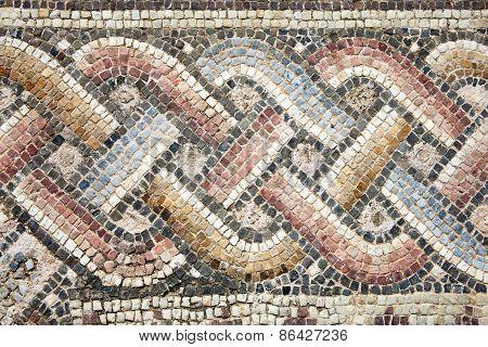 Roman mosaic border
