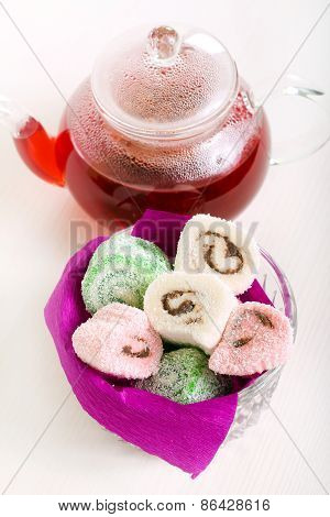 Colorful Jelly - Like Sweet Rolls