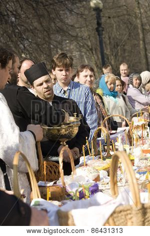 Easter In Moscow