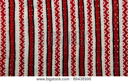 Embroidered Ethnic Pattern