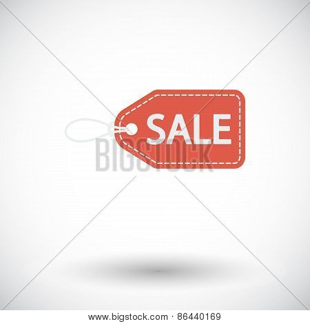 Sale Label icon.
