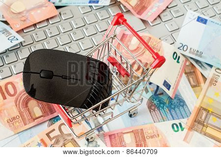 Internet Online Shopping Concept