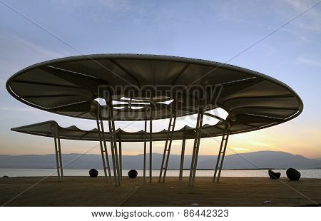 Rotunda At The Dead Sea