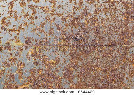 Fundo de Metal oxidado