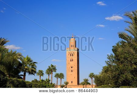 Koutoubia In Marrekesh, Morocco