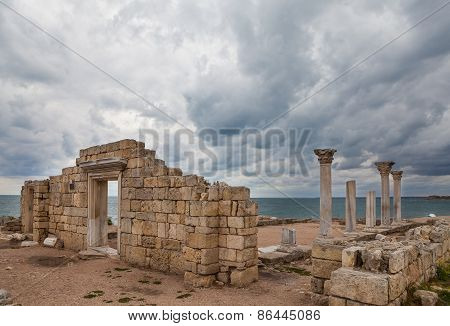 The 1935 Basilica, most famous basilica excavated in Chersonesus