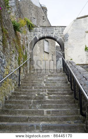 Ancient Steps In The City Of Kilkenny