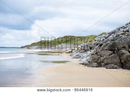 Ballybunion Beach Beside The Links