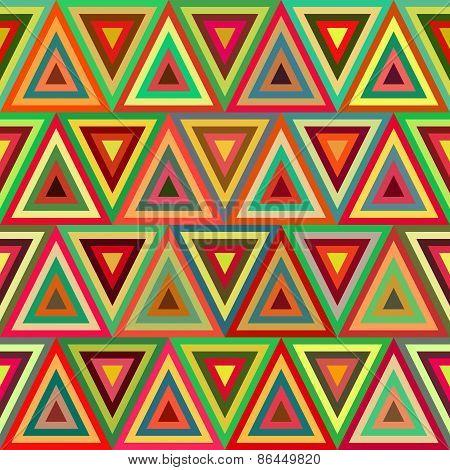 Luminous Triangles Repeatable Background