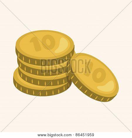 Financial Money Theme Elements