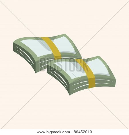 Financial Money Cash Theme Elements