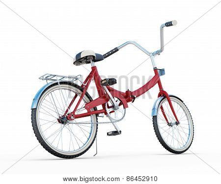 Bicycle Isolated On White