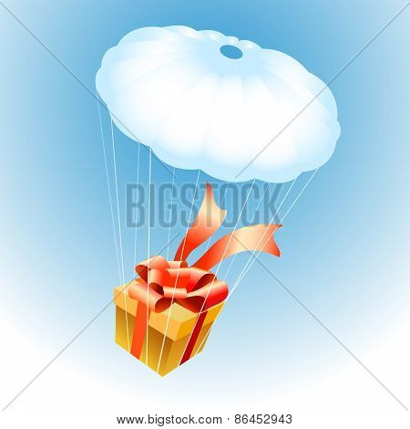 Gift On Parachute