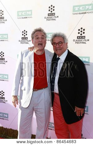 LOS ANGELES - MAR 26:  Barry Pearl, Michael Tucci at the 50th Anniversary Screening Of