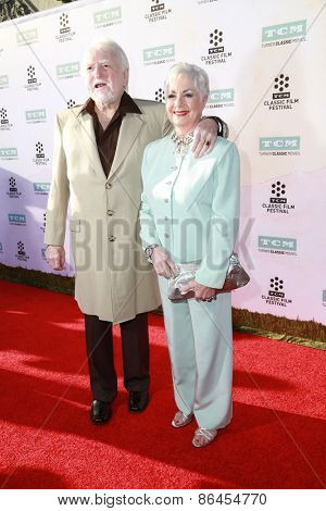 LOS ANGELES - MAR 26:  Marty Ingles, Shirley Jones at the 50th Anniversary Screening Of
