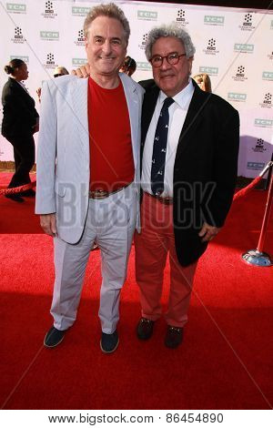 LOS ANGELES - MAR 26:  Michael Tucci, Barry Pearl at the 50th Anniversary Screening Of