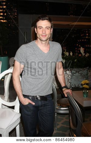 LOS ANGELES - MAR 26:  Daniel Goddard at the Young & Restless 42nd Anniversary Celebration at the CBS Television City on March 26, 2015 in Los Angeles, CA