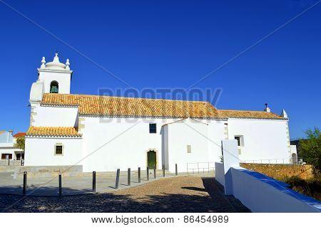 Querenca church of Nossa Senhora da Assunção in the Serra de Monchique mountain range of the Algarve