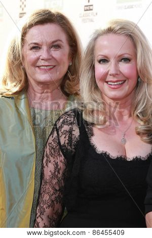 LOS ANGELES - MAR 26:  Heather Menzies-Urich, Kym Karath at the 50th Anniversary Screening Of