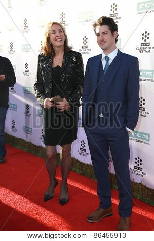 LOS ANGELES - MAR 26:  Rory Flynn, Sean Flynn at the 50th Anniversary Screening Of