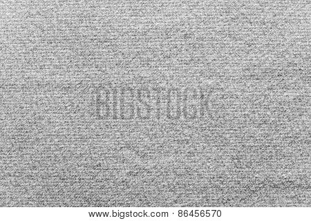 Textile Texture Felt Fabric Of Gray Color