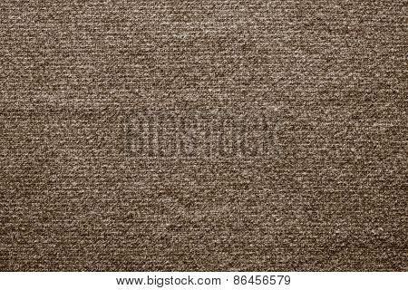 Textile Texture Felt Fabric Of Brown Color