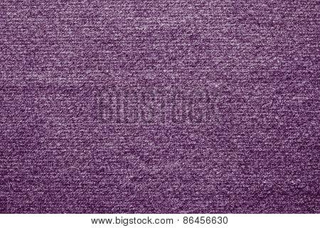 Textile Texture Felt Fabric Of Lilac Color